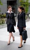 Plenerowi Bizneswomany obrazy royalty free
