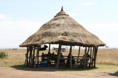 Plenerowy afrykanina sklep Zdjęcie Royalty Free