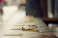 Plenerowy ashtray Obraz Stock