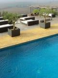 Plenerowy basen zdjęcie stock
