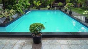 Plenerowy basen w hotelu zdjęcie wideo