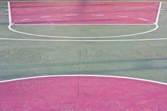 Plenerowy boisko do koszykówki Zdjęcie Royalty Free