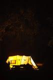 Plenerowy camping Zdjęcia Stock