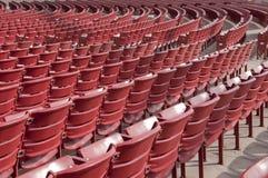 plenerowy czerwony siedzenie Zdjęcie Stock