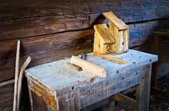 Plenerowy Drewniany warsztat Obraz Stock