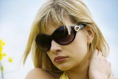 plenerowy dziewczyna portret Zdjęcie Royalty Free
