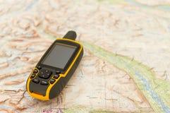 Plenerowy GPS fotografia royalty free
