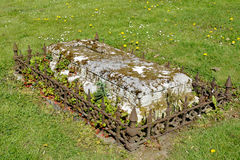 Plenerowy grobowiec Zdjęcie Stock