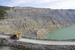 Plenerowy kopalniany Majdanpek Zdjęcie Stock