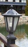 Plenerowy metalu lampion Obraz Stock