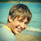 Plenerowy nastolatka portret Zdjęcia Royalty Free