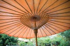 Plenerowy parasol Zdjęcie Stock