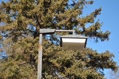 Plenerowy parking światło Zdjęcia Royalty Free
