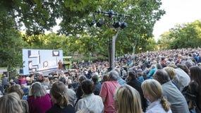 Plenerowy Parkowy teatr Sztokholm Obraz Stock