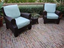 plenerowy patio Obraz Royalty Free