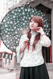 plenerowy piękno chińczyk Zdjęcia Royalty Free