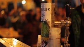 Plenerowy piwa klepnięcie zbiory