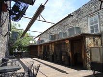 Plenerowy Prętowy patio Zdjęcie Royalty Free