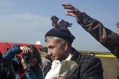 Plenerowy ptaka rynek w Istanbuł Zdjęcie Stock