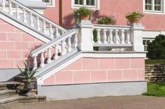Plenerowy retro stylowy schody Obrazy Royalty Free