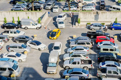 Plenerowy Samochodowy parking Fotografia Royalty Free