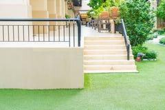 plenerowy schodowy spaceru sposób Obrazy Royalty Free