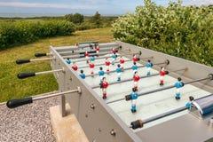 Plenerowy stołowy futbol obrazy stock