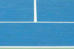 Plenerowy tenisowy sąd Obrazy Royalty Free