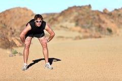Plenerowy treningu biegacz Obrazy Stock