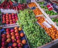 Plenerowy uliczny rynek w Kopenhaga, Dani zdjęcie royalty free