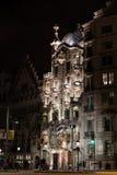 Plenerowy widok domowy Casa Batlo budował w 1877 Antoni Gaudi Obrazy Stock
