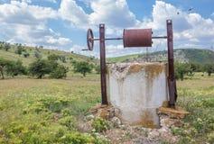 Plenerowy wodny well Zdjęcie Royalty Free