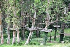 Plenerowy wspinaczkowy boisko Fotografia Royalty Free