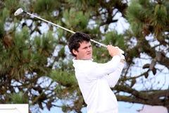 Pleneuf Val安德烈高尔夫球挑战的阿伦邓巴2013年 免版税库存图片