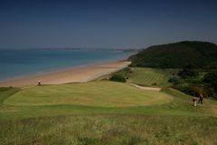 Pleneuf val André golf Course Royalty Free Stock Photography