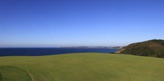 Pleneuf Val Andre golf course, Bretagne, France Royalty Free Stock Photos