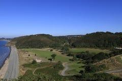 Pleneuf Val Andre golf course, Bretagne, France Stock Images