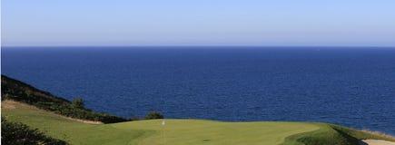 Pleneuf Val Andre golf course, Bretagne, France Stock Image