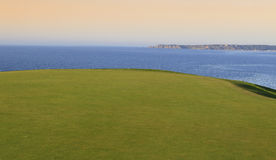Pleneuf Val Andre golf course, Bretagne, France Stock Photography
