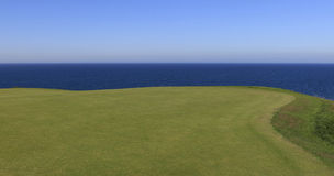 Pleneuf Val Andre golf course, Bretagne, France Royalty Free Stock Images