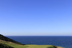 Pleneuf Val Andre golf course, Bretagne, France Royalty Free Stock Photography