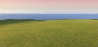 Pleneuf Val Andre golfbana, Bretagne, Frankrike Royaltyfria Foton