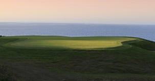 Pleneuf Val Andre golfbana, Bretagne, Frankrike Royaltyfria Bilder