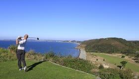Pleneuf Val安德烈高尔夫球挑战的卢克斯Tintera 2013年 免版税库存照片