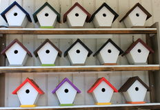 Plenty of birdhouses stock photos