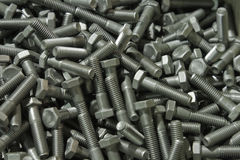Plenty of bolts Stock Images