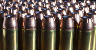 Plenty of bullets Stock Images