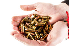Plenty of bullets Stock Photography