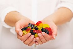 Plenty of Candies You Can Choose From Royalty Free Stock Photography