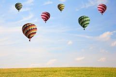 Plenty of colorful balloons Royalty Free Stock Photos